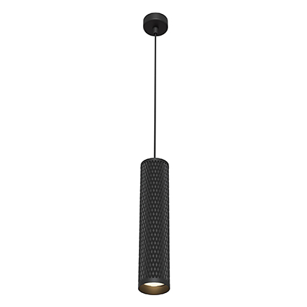 Подвесной светильник цилиндр (черный)