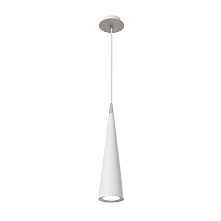 Подвесной светильник конус (белый)