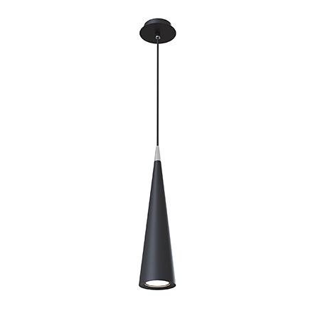 Подвесной светильник конус (черный)