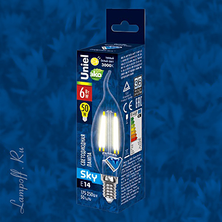 LED-CW35-6W/WW/E14/CL [Фото №2]