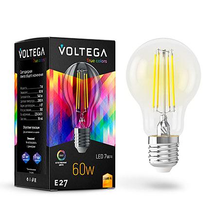 Светодиодная лампа E27 2800К 7W 540Лм