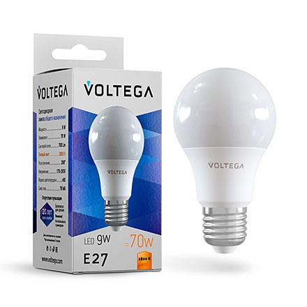 Светодиодная лампа E27 2800К 9W 700Лм