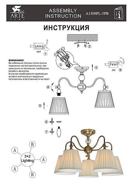 Инструкция / Схема для A1509PL-5PB