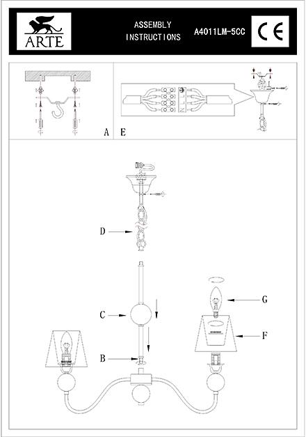 Инструкция / Схема для A4011LM-5CC