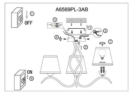 Инструкция / Схема для A6569PL-3AB