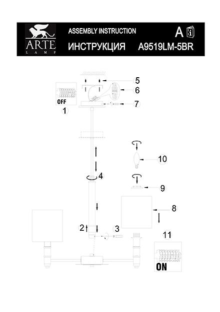 Инструкция / Схема для A9519LM-5BR