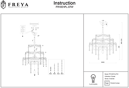 Инструкция / Схема для FR1001PL-07W
