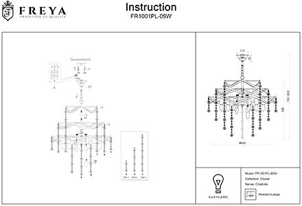 Инструкция / Схема для FR1001PL-09W