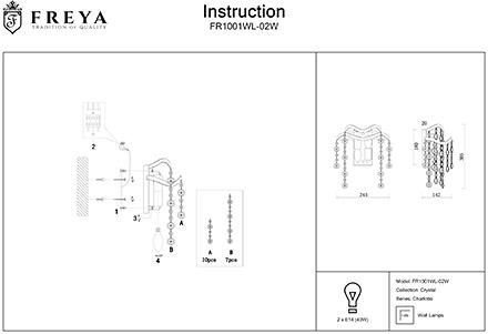 Инструкция / Схема для FR1001WL-02W