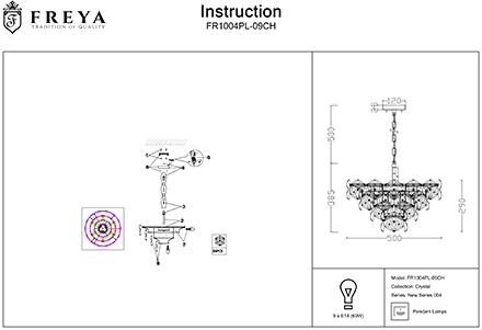 Инструкция / Схема для FR1004PL-09CH