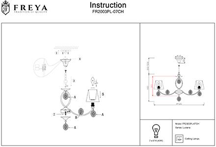 Инструкция / Схема для FR2003PL-07CH