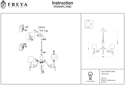 Инструкция / Схема для FR2004PL-05BZ