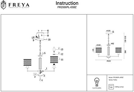 Инструкция / Схема для FR2006PL-05BZ