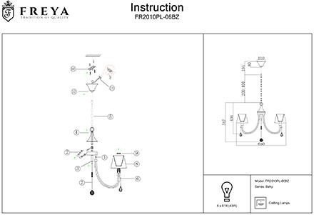 Инструкция / Схема для FR2010PL-06BZ