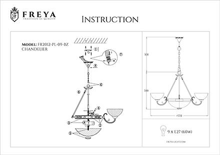 Инструкция / Схема для FR2012-PL-09-BZ