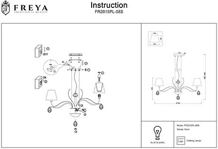 Инструкция / Схема для FR2015PL-08S