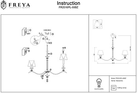 Инструкция / Схема для FR2016PL-08BZ