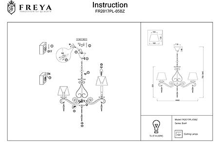 Инструкция / Схема для FR2017PL-05BZ