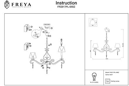 Инструкция / Схема для FR2017PL-08BZ