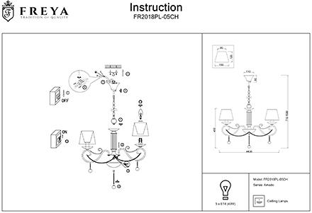 Инструкция / Схема для FR2018PL-05CH