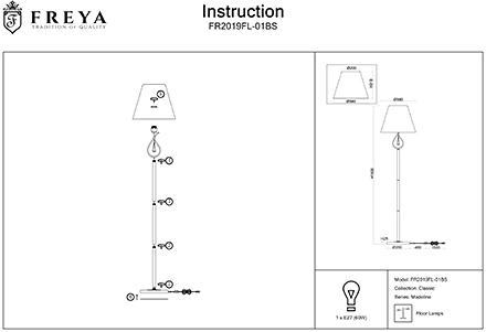 Инструкция / Схема для FR2019FL-01BS