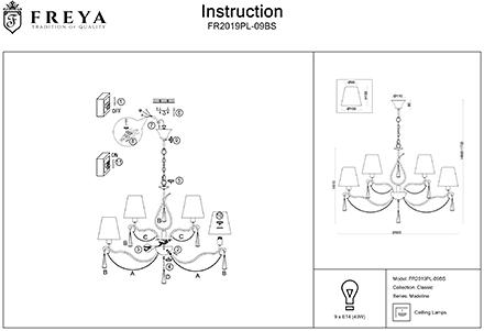 Инструкция / Схема для FR2019PL-09BS