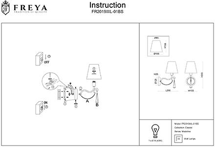 Инструкция / Схема для FR2019WL-01BS
