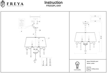 Инструкция / Схема для FR2032PL-04W