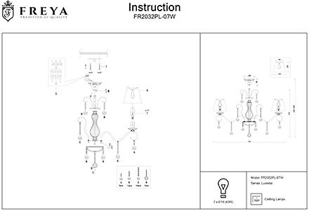 Инструкция / Схема для FR2032PL-07W