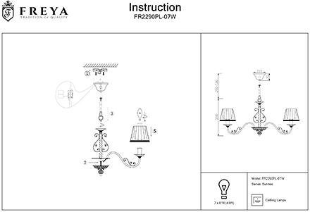 Инструкция / Схема для FR2290PL-07W