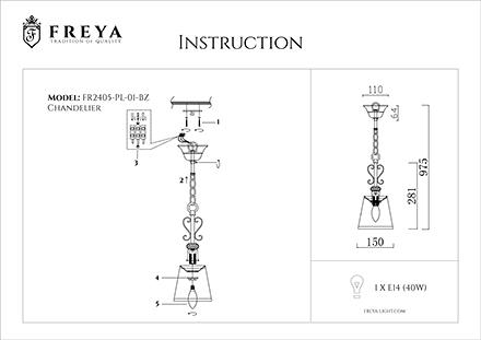 Инструкция / Схема для FR2405-PL-01-BZ