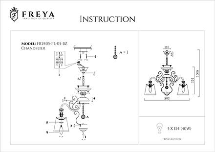 Инструкция / Схема для FR2405-PL-05-BZ