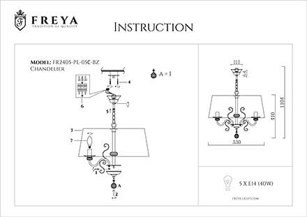 Инструкция / Схема для FR2405-PL-05C-BZ