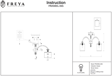 Инструкция / Схема для FR2539CL-06G
