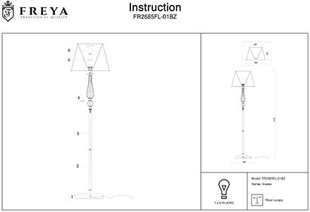 Инструкция / Схема для FR2685FL-01BZ