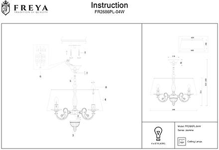 Инструкция / Схема для FR2686PL-04W