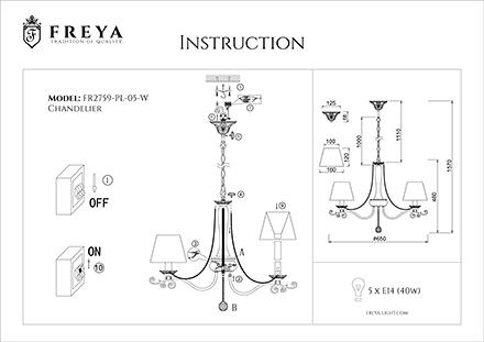 Инструкция / Схема для FR2759-PL-05-W