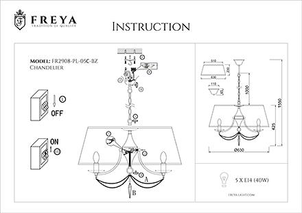 Инструкция / Схема для FR2908-PL-05C-BZ