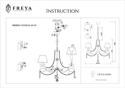 Инструкция / Схема для FR2909-PL-05-CH