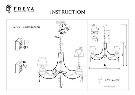 Инструкция / Схема для FR2909-PL-08-CH