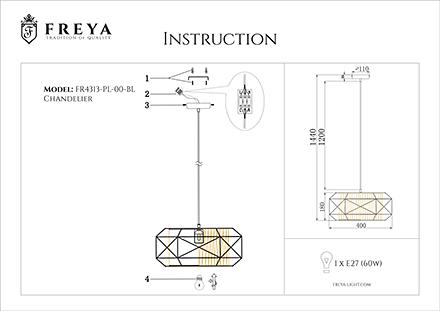 Инструкция / Схема для FR4313-PL-00-BL