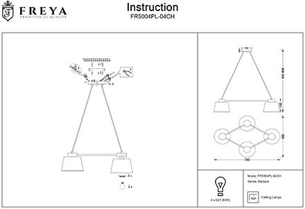 Инструкция / Схема для FR5004PL-04CH