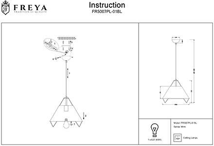 Инструкция / Схема для FR5007PL-01BL