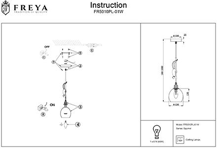 Инструкция / Схема для FR5010PL-01W