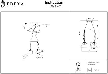Инструкция / Схема для FR5010PL-03W