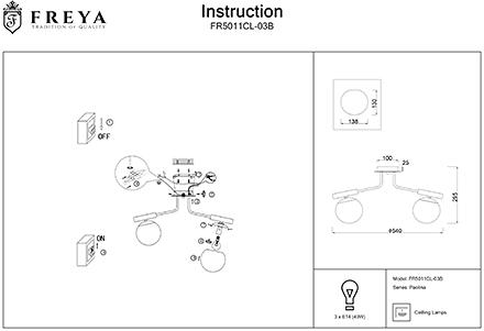 Инструкция / Схема для FR5011CL-03B