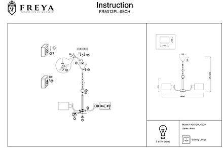 Инструкция / Схема для FR5012PL-05CH