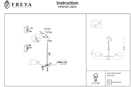 Инструкция / Схема для FR5012PL-08CH