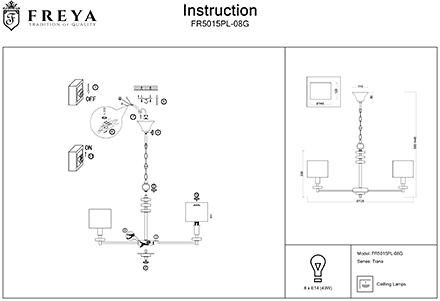 Инструкция / Схема для FR5015PL-08G