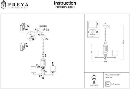 Инструкция / Схема для FR5016PL-03CH